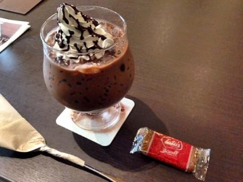 2015年04月23日 川越のノスタルジックカフェの人気メニュー「伍番館の濃い〜ココア」