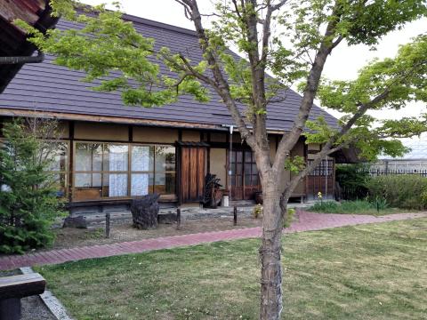 川越にある伊佐沼庵の庭園。