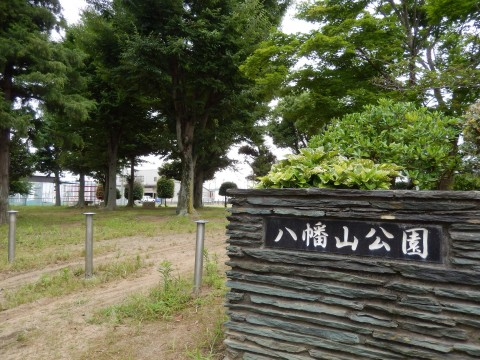 埼玉県行田市にある八幡山公園