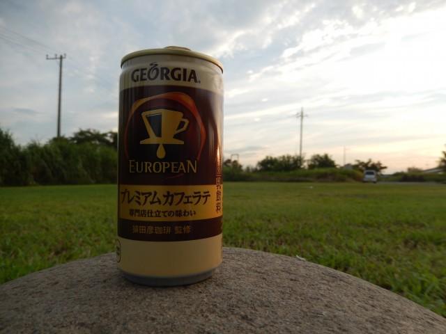ジョージア ヨーロピアン プレミアムカフェラテを飲んでみた感想。