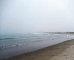 茨城県神栖市の日川浜海水浴場