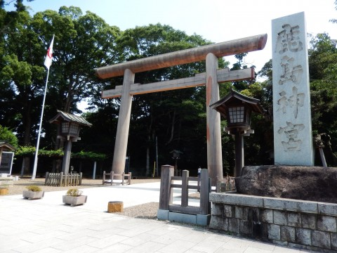 茨城県屈指の観光スポット「鹿島神社」