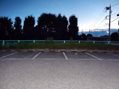 さいたま市の大平公園の駐車場