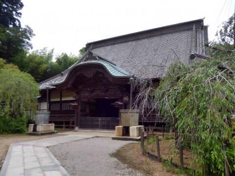 千葉県佐原市にある観光地「観福寺」