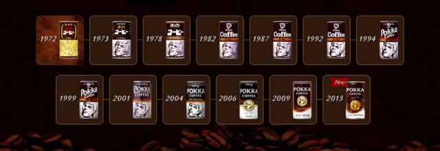 ポッカコーヒーオリジナルの歴史