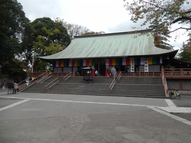 川越の観光スポット「喜多院」②