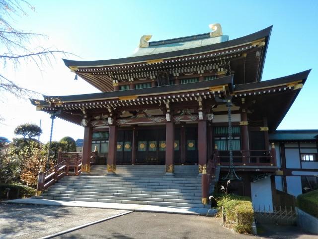 東京都板橋区にある乗蓮寺