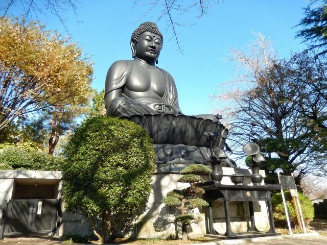 東京都板橋区乗蓮寺にある東京大仏