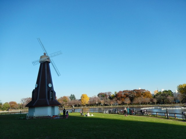 浮間公園のオランダ風車