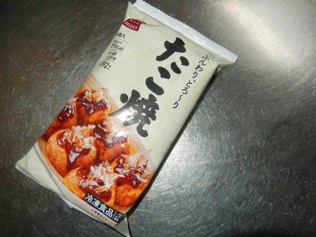 ローソン冷凍たこ焼①
