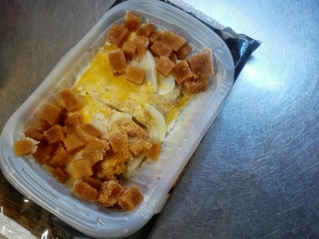 セブンイレブンの冷凍三元豚のロースかつ煮②