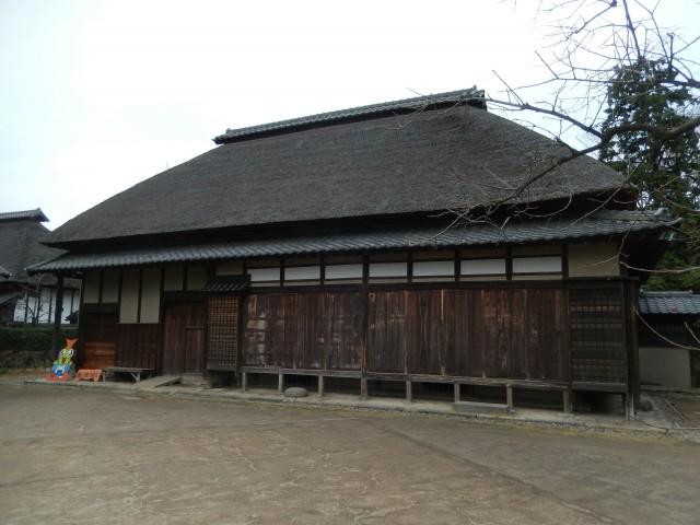難波田城公園の旧金子家住宅