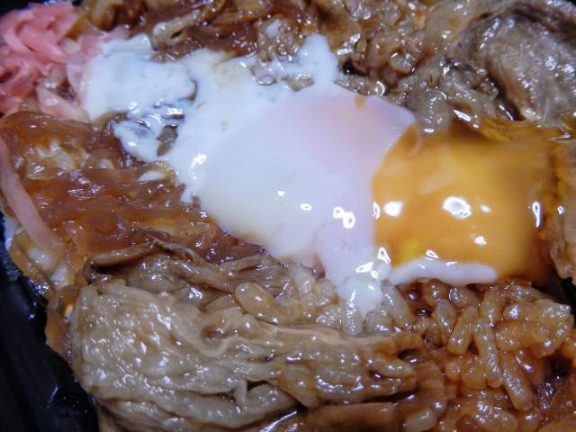 OKストア「牛すき焼き弁当」②