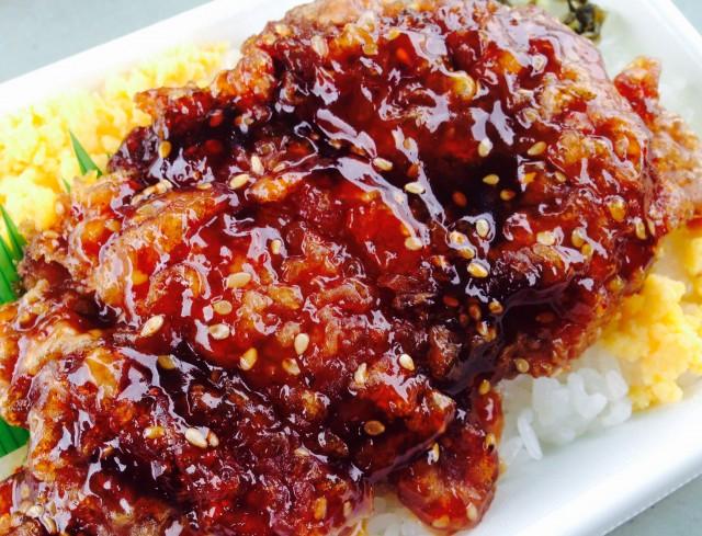 セブンイレブンの「たっぷりマヨのピリ辛チキン弁当」③