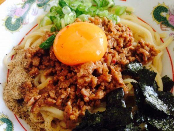 日清食品「まぜ麺の匠 台湾まぜそば」④