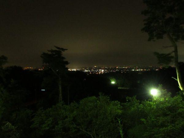 物見山の夜景