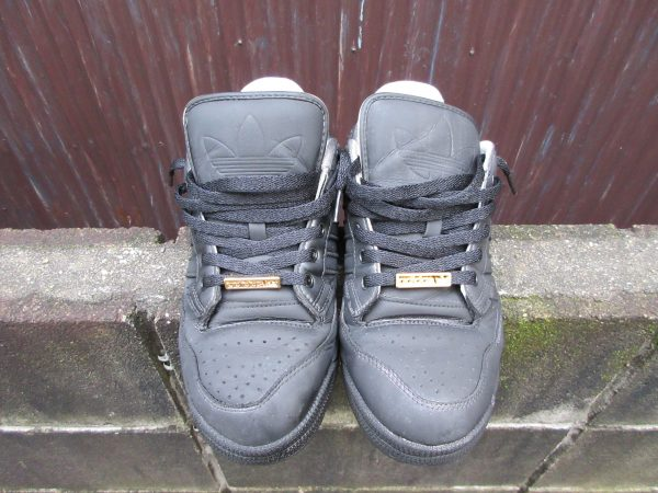 染めQで靴の色を替える工程④