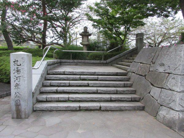 埼玉県草加市にある札場河岸公園