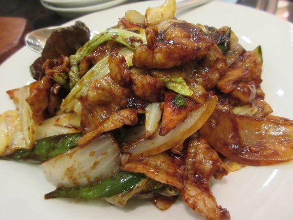 台湾料理 蘭の回鍋肉