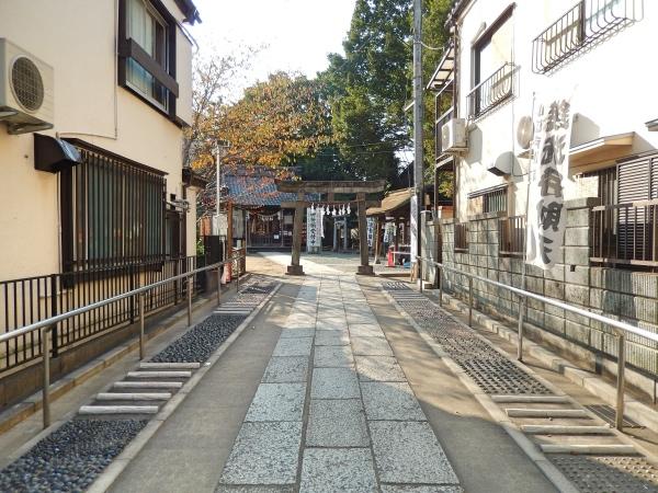 川越熊野神社の足踏み健康ロード
