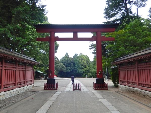 氷川神社の三の鳥居