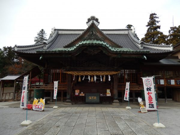埼玉県東松山市にある箭弓稲荷神社①