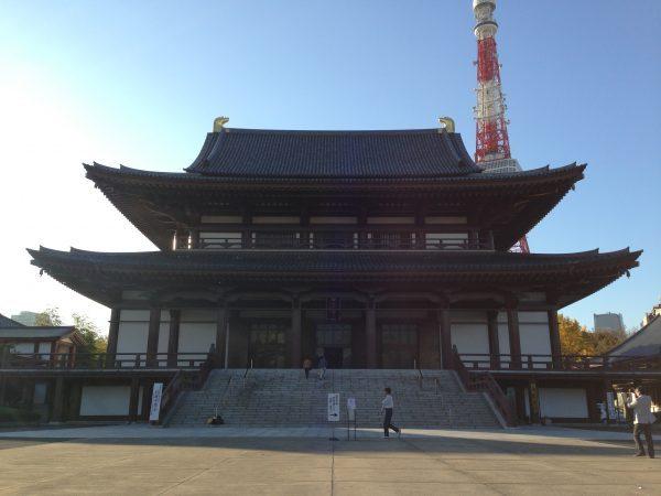 東京都港区にある増上寺①