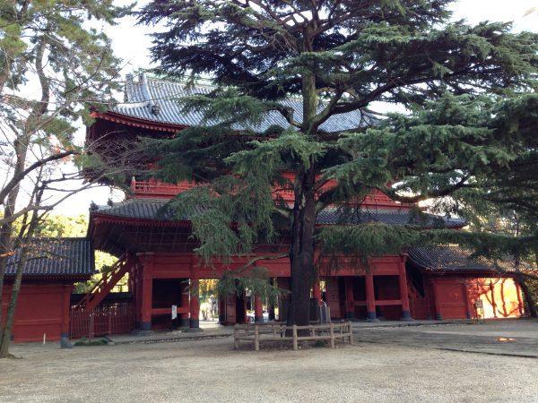 増上寺の三解脱門