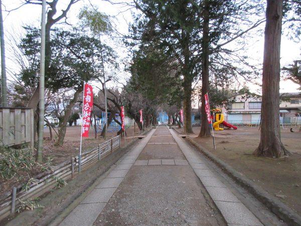 「とおりゃんせ」発祥の地といわれている三芳野神社