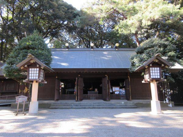 埼玉縣護國神社の本殿