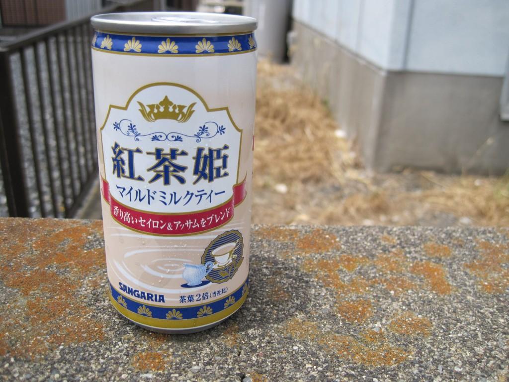 サンガリアの「紅茶姫 マイルドミルクティー」を飲んでみた感想。