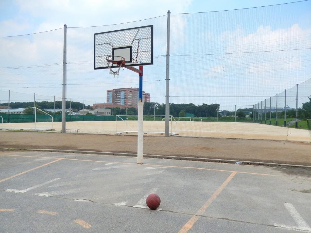 埼玉県のバスケットゴールがある公園「上尾平塚サッカー場」