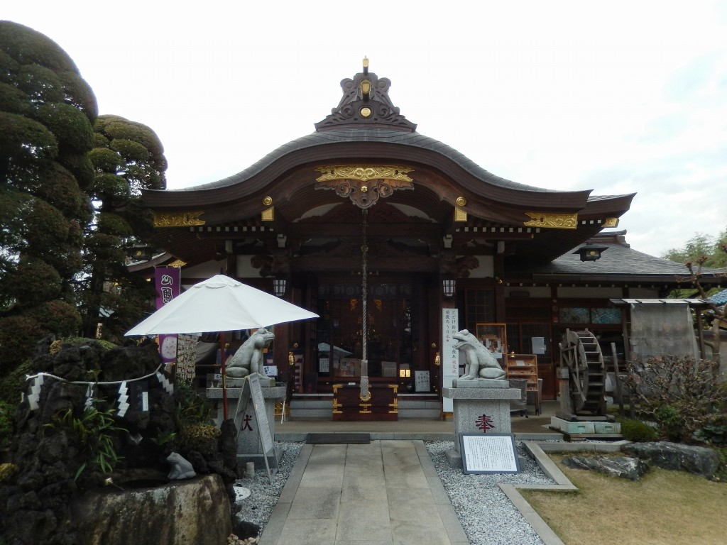 水宮神社(富士見/観光)ツッコミどころが満載のパワースポット?