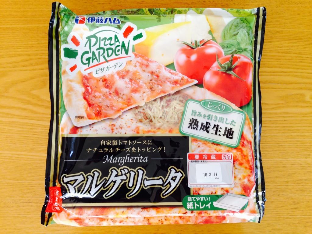 【レビュー】伊藤ハムのピザガーデン「マルゲリータ」を食べてみた。