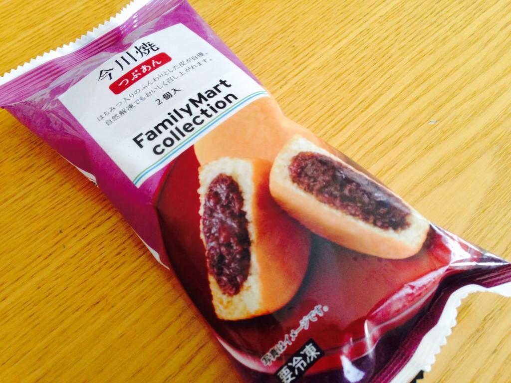 子どものおやつにおすすめ!ファミマの冷凍食品「今川焼」が美味です!