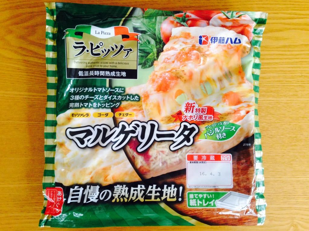 【レビュー】伊藤ハムのラ・ピッツァ「マルゲリータ」を食べてみた。