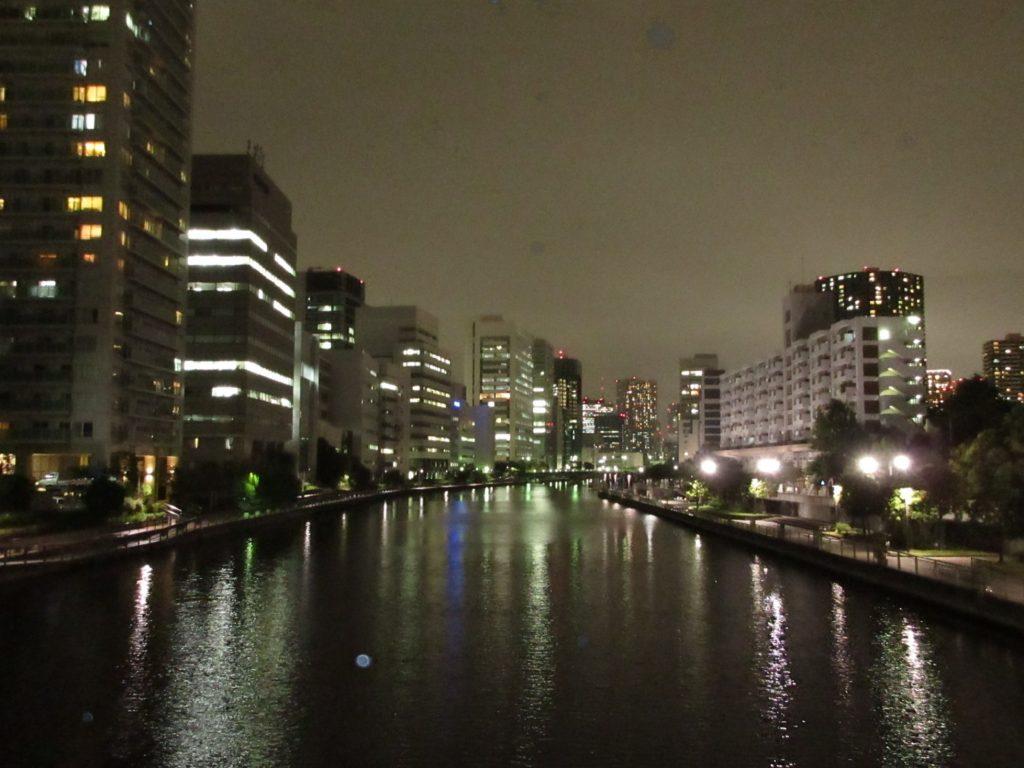 TOKYOの夜景は美しかった。