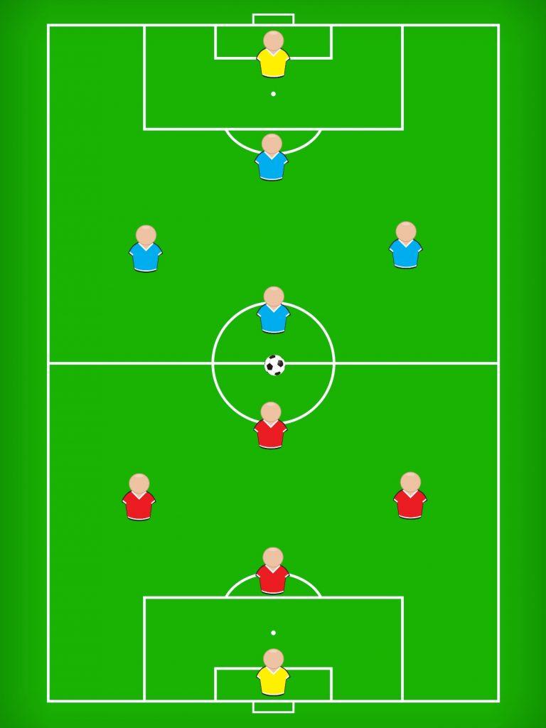 なぜ、サッカーの基礎を4対4のミニゲームで学ぶのが重要なのか?
