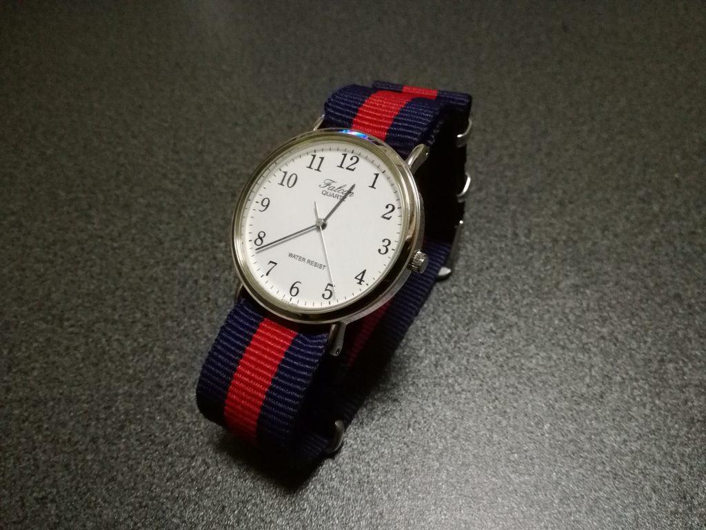 【100均】NATOタイプ腕時計ベルトでチープシチズンをアレンジ!