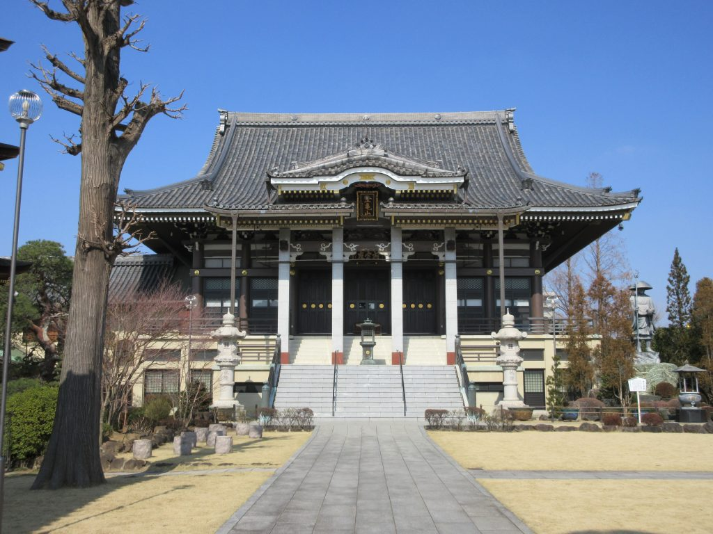 金亀山 三学院(蕨/観光)敷地が広い!目にご利益のある有名なお寺。