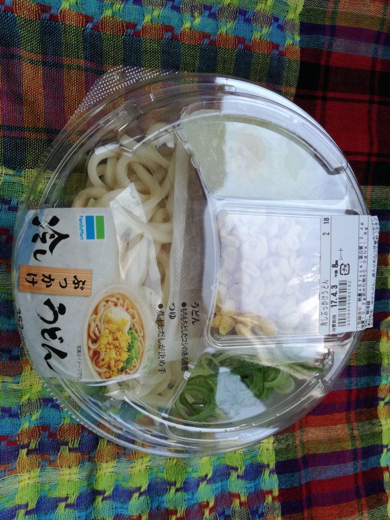 【ファミマ】冷しぶっかけうどん(380円)は高くないか?