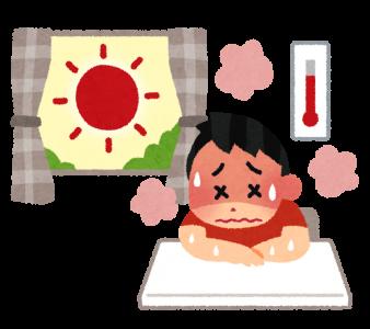 熱中症は屋内での発生率が高い?高齢者は特に注意と対策が必要。