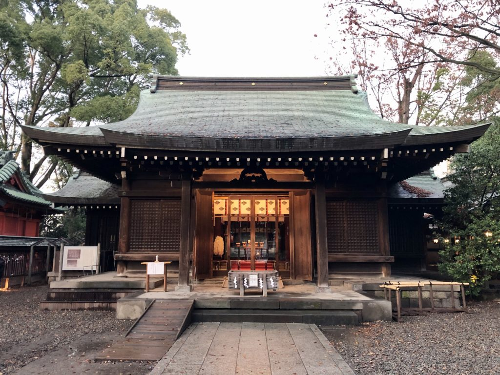 2019.11 Kawagoe Hikawa Shrine